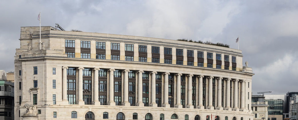 Unilever House London by